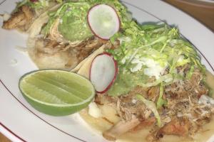 Pollo Tacos - delivery menu