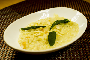 P2. Butternut Risotto Plate - delivery menu
