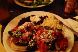 Mexican Vegetable Tostadas - delivery menu