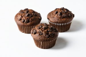 DOUBLE CHOCOLATE CHIP MUFFIN - delivery menu