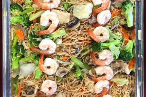 Chow Mein Tray - delivery menu