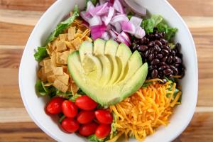 Santa Fe Salad - delivery menu