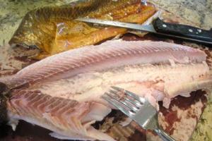WHITE FISH    - delivery menu