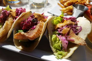 Fried Fish tacos - delivery menu