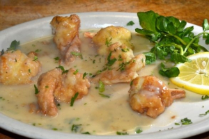 Shrimp Francese - delivery menu