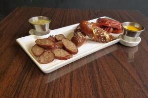 Pretzel 'N' Sausage - delivery menu