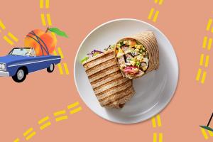Georgia Summer Cobb Wrap - delivery menu