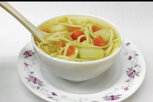 Chicken Noodle Soup - delivery menu