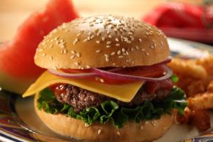 2. Cheeseburger - delivery menu