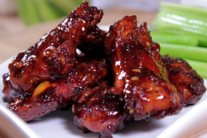 6 Smoked Wings - delivery menu
