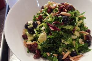 Brussels Sprouts and Kale Salad Dinner - delivery menu