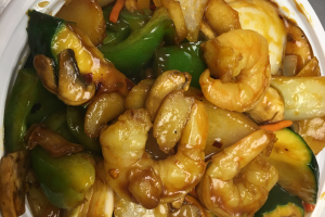 505. Kung Pao Shrimp  ( Large ) - delivery menu