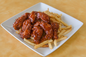 6 Pieces Party Wings Dinner - delivery menu