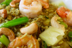 Pineapple Chicken and Shrimp Fried Rice - delivery menu