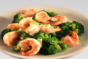 71. Shrimp with Broccoli - delivery menu