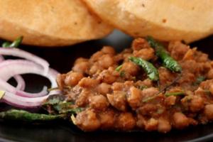 Chhole Poori - delivery menu