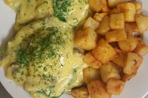Eggs Florentine Benedict - delivery menu
