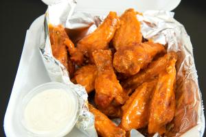 10 Pieces Chicken Wings - delivery menu
