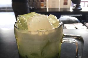 Ice Green Tea (Sweetened) - delivery menu