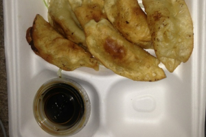 1. Pot Sticker - delivery menu