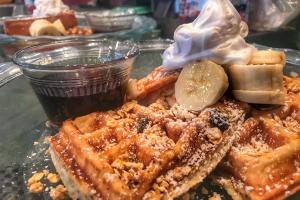 Belgian Waffles - delivery menu