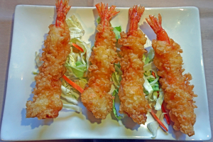 9. Four Shrimp Tempura - delivery menu