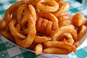 Spicy Curly Fries - delivery menu