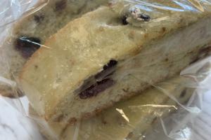 Cranberry pistachio biscotti - delivery menu