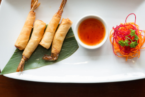 Black Thai Shrimp Rolls - delivery menu