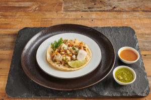 Polla Asado Soft Taco - delivery menu