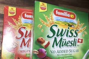 Familia Swiss Muesli Cereal - delivery menu