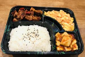 D. Tomato w. Egg+ Braised Beef + Mapo Toufu - delivery menu