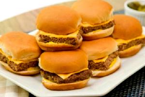 Beef Burger Sliders (6) - delivery menu