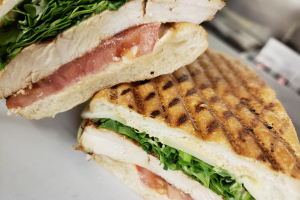 Swiss Chicken Panini - delivery menu