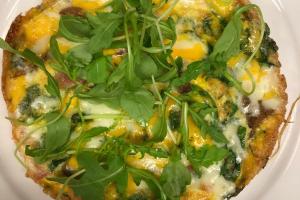 3 Cheese Quiche - delivery menu