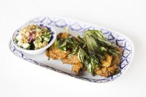 Tod Mun Pla Plate - delivery menu