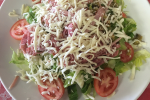 Salami and Muffuletta Salad - delivery menu