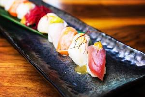 Aburi Sushi Entree - delivery menu
