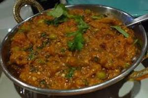Baingan Bhartha - delivery menu