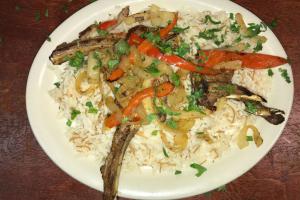 Lamb Chops Platter - delivery menu