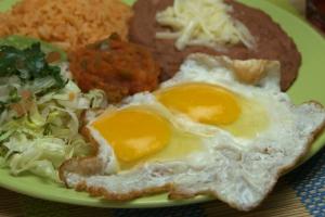 1. Huevos Rancheros - delivery menu