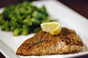 Grilled Salmon Dinner - delivery menu