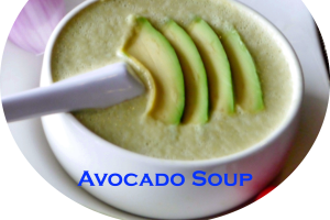 Avocado Soup - delivery menu