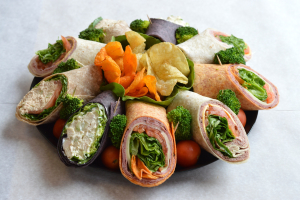 3W. Roasted Turkey Wrap - delivery menu
