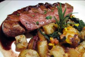 Steak D' Onglet - delivery menu