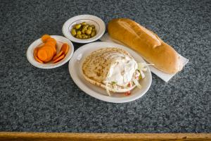 Hummus Sandwich - delivery menu