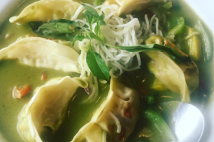 Green Curry Dumplings - delivery menu