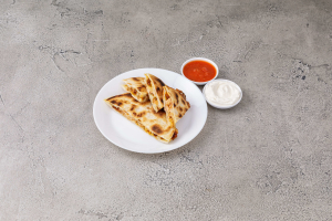 22. Jack Cheese and Grilled Chicken Quesadillas Sincronizadas - delivery menu