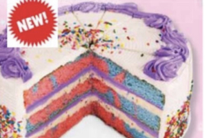 New Unicorn Cake - delivery menu