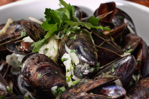 Steamed Mussels - delivery menu